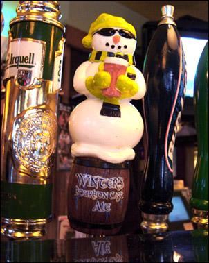 Winters Bourbon Cask Ale at Bar Louie