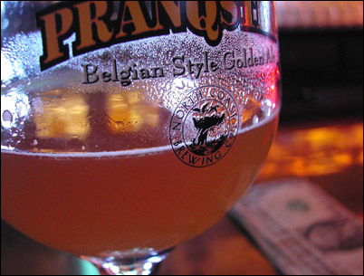 Pranqster on tap at the Moon